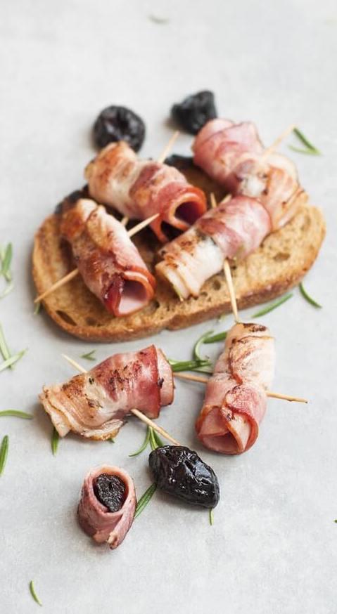 Az aszalt szilva húsokhoz is kiváló választás.